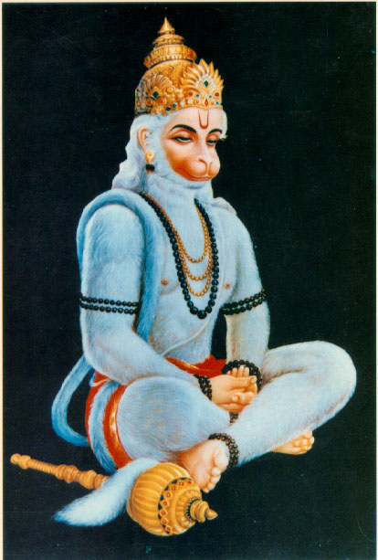 An Aghori speaking of Hanuman as Siva